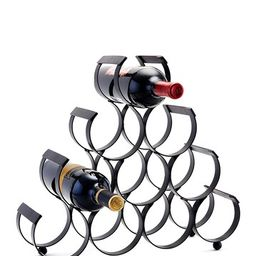ODI HOUSEWARES | 10-Bottle Iron Matte Black Wine Rack | Nordstrom Rack | Nordstrom Rack