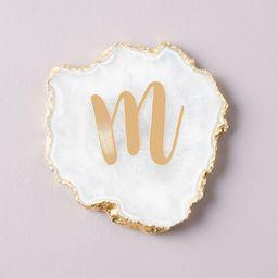 Monogram Agate Coaster | Nordstrom