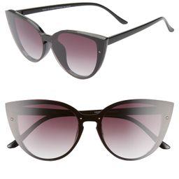 Flat Front 60mm Cat Eye Sunglasses   Nordstrom