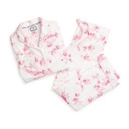 Women's Floral Pajama Set, English Rose | Maisonette