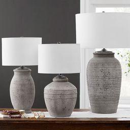 Maddox Ribbed Table Lamp Base   Pottery Barn (US)