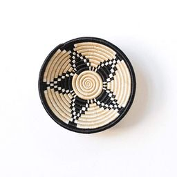Small African Basket- Bubanza/Rwanda Basket/Woven Bowl/Sisal & Sweetgrass Basket/Tan, Black, Whit...   Amazon (US)