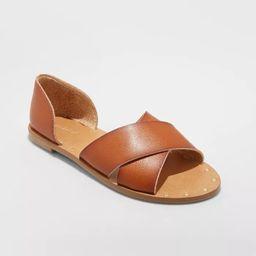 Women's Lois Crossband Sandals - Universal Thread™ | Target