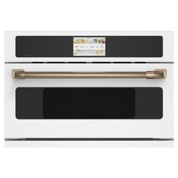 30 in. 1.7 cu. ft. Smart Electric Wall Oven and Microwave Combo with 240 Volt Advantium Technolog... | The Home Depot