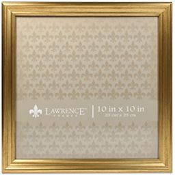 Lawrence Frames 10x10 Sutter Burnished Gold Picture Frame | Amazon (US)