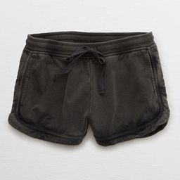 Aerie Sunwashed Desert Short Women's Smoked Gray L   American Eagle Outfitters (US & CA)
