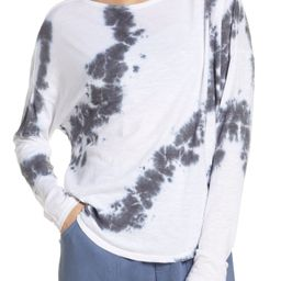 Women's Zella Garment Wash Long Sleeve Studio T-Shirt | Nordstrom