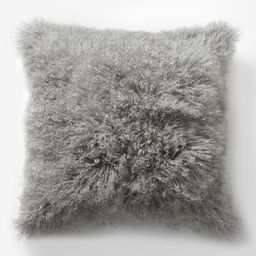 Mongolian Lamb Pillow Covers | West Elm (US)