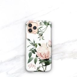 iPhone 11 Case Pink Roses Personalized iPhone 11 Pro Case Monogrammed Pretty iPhone 11 Pro Max Gi...   Etsy (US)