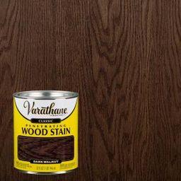 1 qt. Dark Walnut Classic Wood Interior Stain | The Home Depot