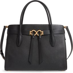 large toujours leather satchel | Nordstrom