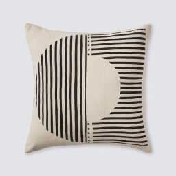 Demi Mud Cloth Pillow - Cream | The Citizenry