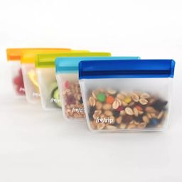 (re)zip Leak-Proof Assorted Colors Stand Up Storage Bag- 5ct   Target