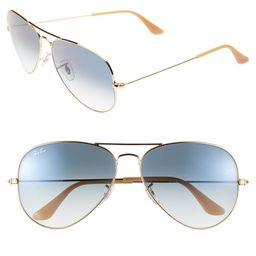 Large Original 62mm Aviator Sunglasses | Nordstrom