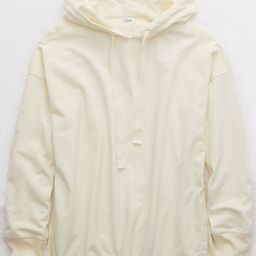 Aerie Sunwashed Desert Hoodie Women's Empire Cream XXL | American Eagle Outfitters (US & CA)