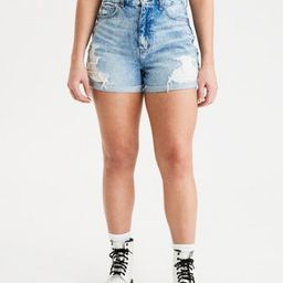 Curvy Denim Mom Shorts | American Eagle Outfitters (US & CA)