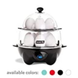 Dash DEC012BK Deluxe Rapid Egg Cooker Electric for for Hard Boiled, Poached, Scrambled, Omelets, Ste | Amazon (US)