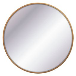 """32"""""""" Round Decorative Wall Mirror Brass - Project 62 