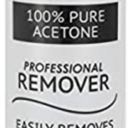 Pronto 100% Pure Acetone - Quick, Professional Nail Polish Remover - For Natural, Gel, Acrylic, S... | Amazon (US)