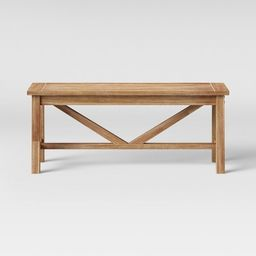 Wheaton Dining Bench - Threshold™ | Target