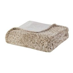 """60"""" x 70"""" Marselle Oversized Faux Fur Throw Leopard 