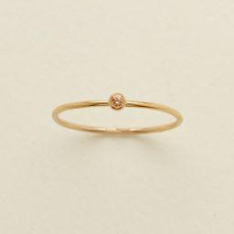 November Birthstone Ring | Made by Mary (US)