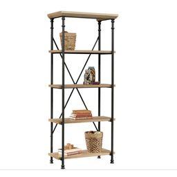 Better Homes & Gardens River Crest 5-Shelf Bookcase, Rustic Oak Finish   Walmart (US)