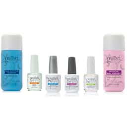 Gelish Full Size Gel Nail Polish Soak Off Remover and Cleanser Basic Care Kit | Walmart (US)