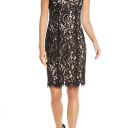 Floral Lace Cocktail Sheath | Nordstrom