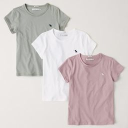 3-Pack Short-Sleeve Crew Tee | Abercrombie & Fitch (US)