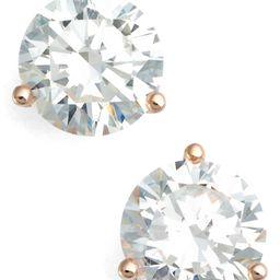 4ct tw Cubic Zirconia Earrings   Nordstrom