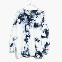 Rivet & Thread Indigo Tie-Dye Oversized Sweatshirt   Madewell