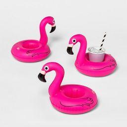 Flamingo Beverage Boats Pink 3pk - Sun Squad™ | Target