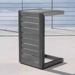 Cape Coral Aluminum C-Shaped Side Table - Christopher Knight Home | Target
