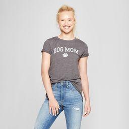 Women's Short Sleeve Dog Mom Graphic T-Shirt - Modern Lux (Juniors')   Target