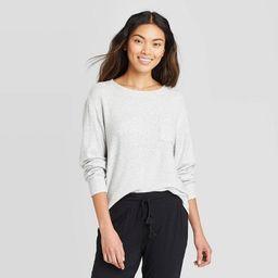 Women's Perfectly Cozy Lounge Sweatshirt - Stars Above™ | Target