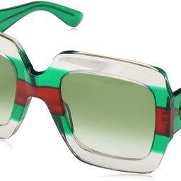 GG 0178 S- 001 MULTICOLOR/GREEN Sunglasses   Amazon (US)