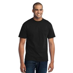 Port & Company Men's Big And Tall Soft Pocket T-Shirt | Walmart (US)
