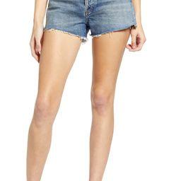 Parker Organic Cotton Cutoff Denim Shorts | Nordstrom