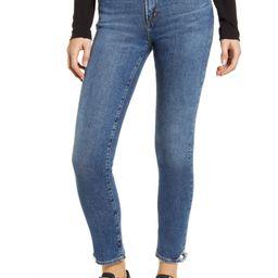 Toni High Waist Ankle Straight Leg Jeans | Nordstrom