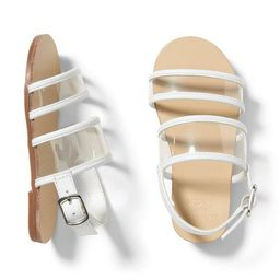 Clear Strap Sandal   Janie and Jack