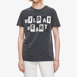 Vintage Tee Wild Heart - Washed Black   ANINE BING