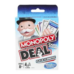 Monopoly Deal Card Game, 2 to 5 Players, for Ages 8 and Up | Walmart (US)