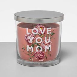 14oz Mother's Day Decal Glass Jar 2-Wick Candle - Opalhouse™ | Target