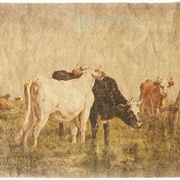 Creative Co-Op Vintage Cows Decorator Paper | Amazon (US)