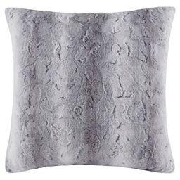 Marselle Faux Fur Euro Pillow   Target