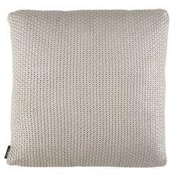 Tickled Knit Palewisper Square Throw Pillow Gray - Safavieh   Target