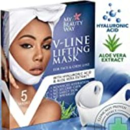 V Line Mask Chin Up Patch Double Chin Reducer Chin Mask V Up Contour Tightening Firming Face Lift Ta   Amazon (US)
