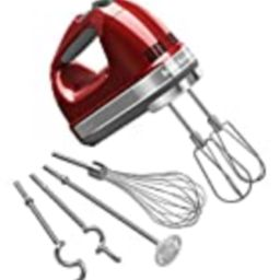 KitchenAid KHM926CA 9-Speed Digital Hand Mixer with Turbo Beater II Accessories and Pro Whisk - Cand | Amazon (US)