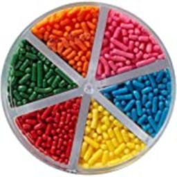 Wilton Jimmies Rainbow Sprinkle Assortment, 3.2 oz. - Cake Decorating Supplies | Amazon (US)